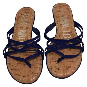 Sam & Libby Blue Sandals