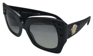 Versace New VERSACE Sunglasses VE 4308-B GB1/11 54-22 Black Frame w/Grey Fade