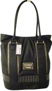 Guess Leather Tote in Black