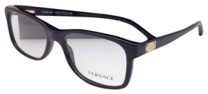 Versace New VERSACE Eyeglasses VE 3173 GB1 56-17 140 Black Frame