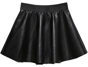 Other short dress black Patent Leather Leather Large on Tradesy