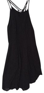 Abercrombie & Fitch short dress Black Lace Day Strappy on Tradesy