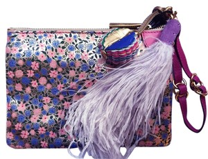 Marc Jacobs Wristlet in Gold, Blue, Fuchsia