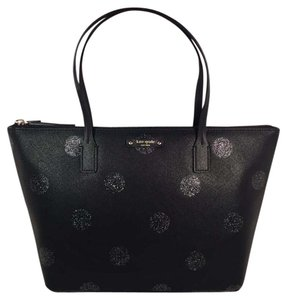 Kate Spade Tote in Black Dot