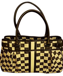 L.A.M.B. Great Condition Tote in Black and White