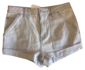 Free People Cuffed Shorts Grey