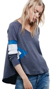 Free People T Shirt Charcoal Combo