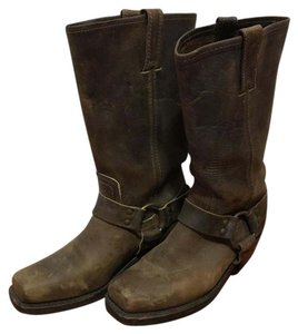 free shipping! Frye Harness boots Tan Boots