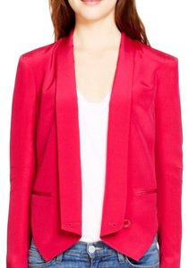 Rebecca Minkoff Red Womens Jean Jacket