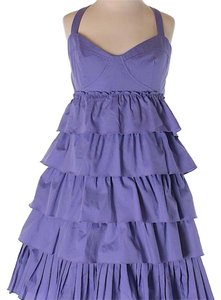Nanette Lepore short dress Purple on Tradesy