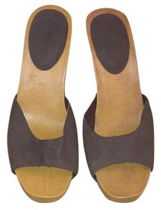 Candie's Brown Mules