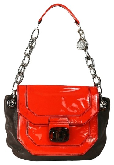 Lanvin Leather Chain Strap With Shoulder Bag Image 0