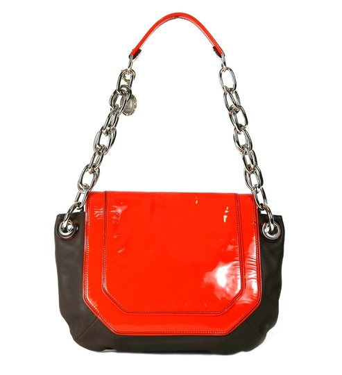 Lanvin Leather Chain Strap With Shoulder Bag Image 1