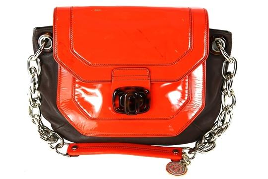 Lanvin Leather Chain Strap With Shoulder Bag Image 2