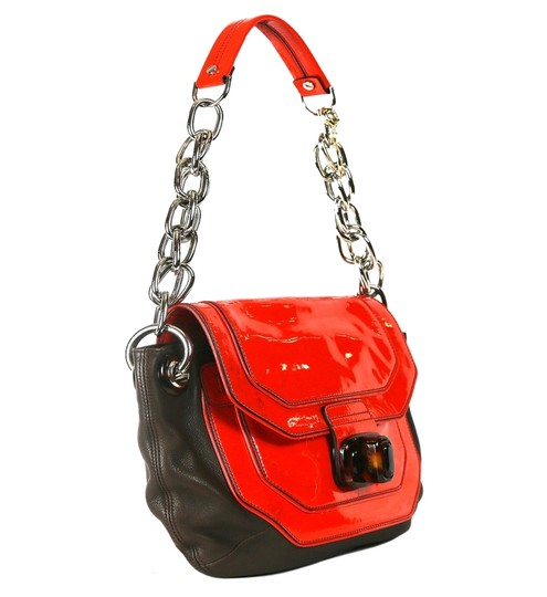Lanvin Leather Chain Strap With Shoulder Bag Image 5