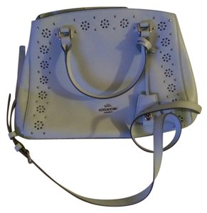 Coach Satchel in Baby Blue