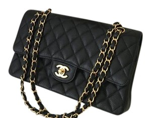 Chanel New Double Flap Medium Size Cross Body Bag