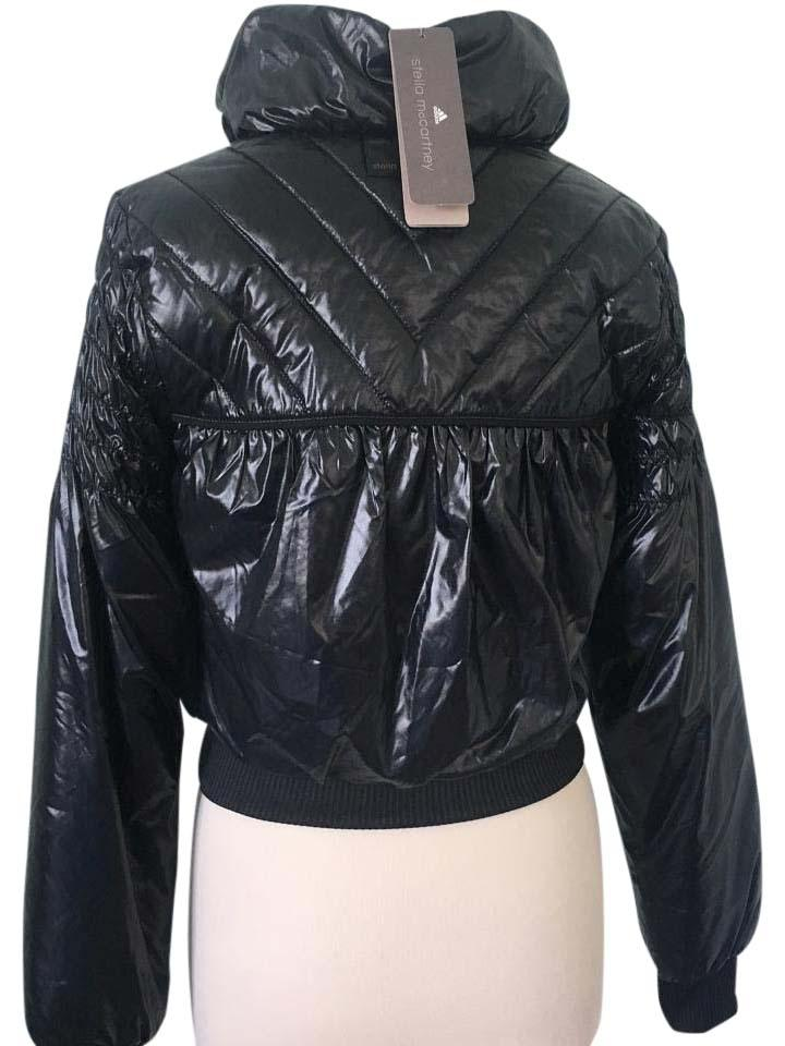 1d26454f9 Adidas by Stella McCartney Navy Blue Quilted Puffer Jacket - Tradesy