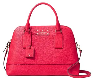 Kate Spade Satchel in Cherry Liqueur