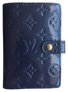 Louis Vuitton Louis Vuiiton Indigo Monogram Vernis Small Agenda
