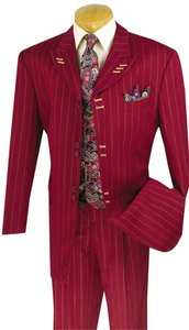Boutique 9 5pc Single Breasted, Six Buttons..Mens Suit