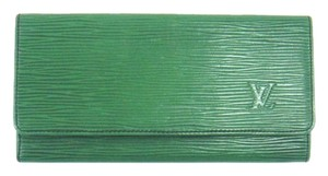 Louis Vuitton Porte-Yen Epi Leather Long Bill Receipt Wallet Spain