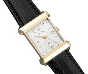 Zodiac 1940's Zodiac Vintage Mens Dress Watch - 14K Gold