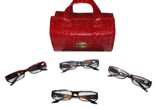 Item - Red 1.50 Readers and Travel Roll