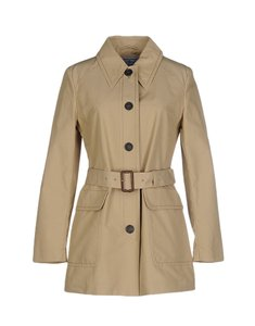 Prada Trench Cotton Trench Coat