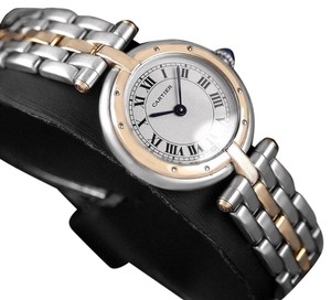 Cartier Cartier Panthere VLC Vendome Ladies Watch - Stainless Steel & 18K Gold