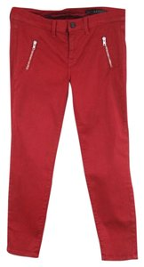 Rockstar Sushi Red Cotton Skinny Slim Skinny Jeans
