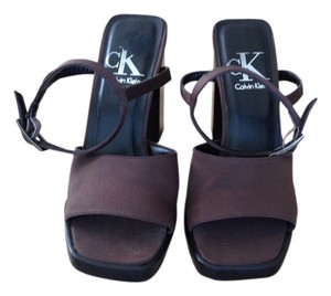 Calvin Klein Brown Sandals