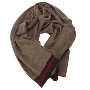 Gucci GUCCI 327377 Men's Wool Scarf with Web