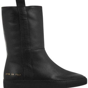 Common Projects Black Boots