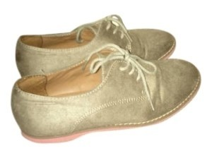 Mossimo Supply Co. Beige and Pink Flats