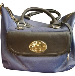 Emma Fox Satchel in Navy/black