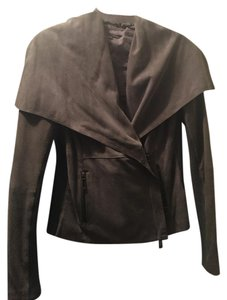 Vince Suede gray Leather Jacket