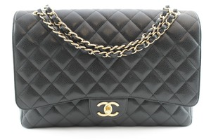 Chanel Maxi Caviar Shoulder Bag