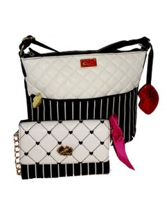 Betsey Johnson Matching Wallet Cross Body Bag