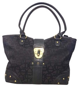 Etienne Aigner Tote in Black