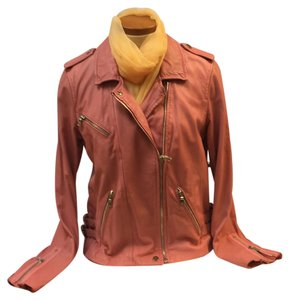 Rebecca Taylor Guava Leather Jacket