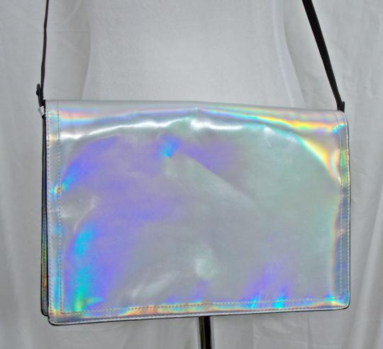 Zara Clutch Hologram Trafaluc Shoulder Bag