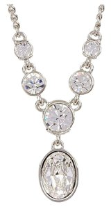 Givenchy Elegant Clear Crystal Necklace