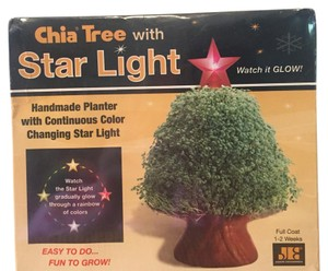 Chia Chia Tree w/ Star Light Changing Colors