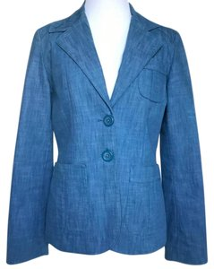 Topshop Light blue Chambray Blazer