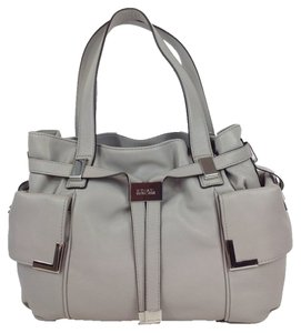 Michael Kors Satchel in Pearl Grey