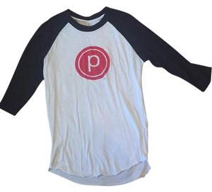 Pure Barre T Shirt Black and White