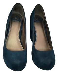 Fergalicious by Fergie Teal Wedges