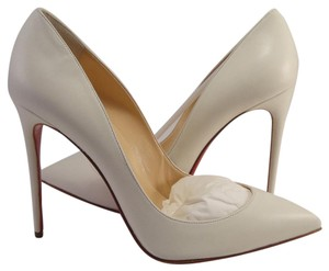 Christian Louboutin Louboutin Pigalle Follies 100mm Neige white Pumps