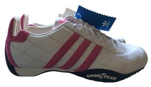 adidas White, pink Athletic